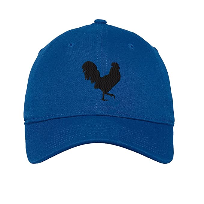 Amazon.com  Speedy Pros Rooster Style 7 Twill Cotton 6 Panel Low ... d8c512055b04