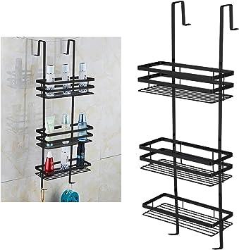 UISEBRT - Estantería para ducha sin agujeros – Estante colgante 80 ...