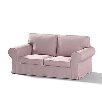 Dekoria Ektorp 2 Sitzer Sofabezug Nicht Ausklappbar Sofahusse Passend Für  Ikea Modell Ektorp Rosa Ektorp