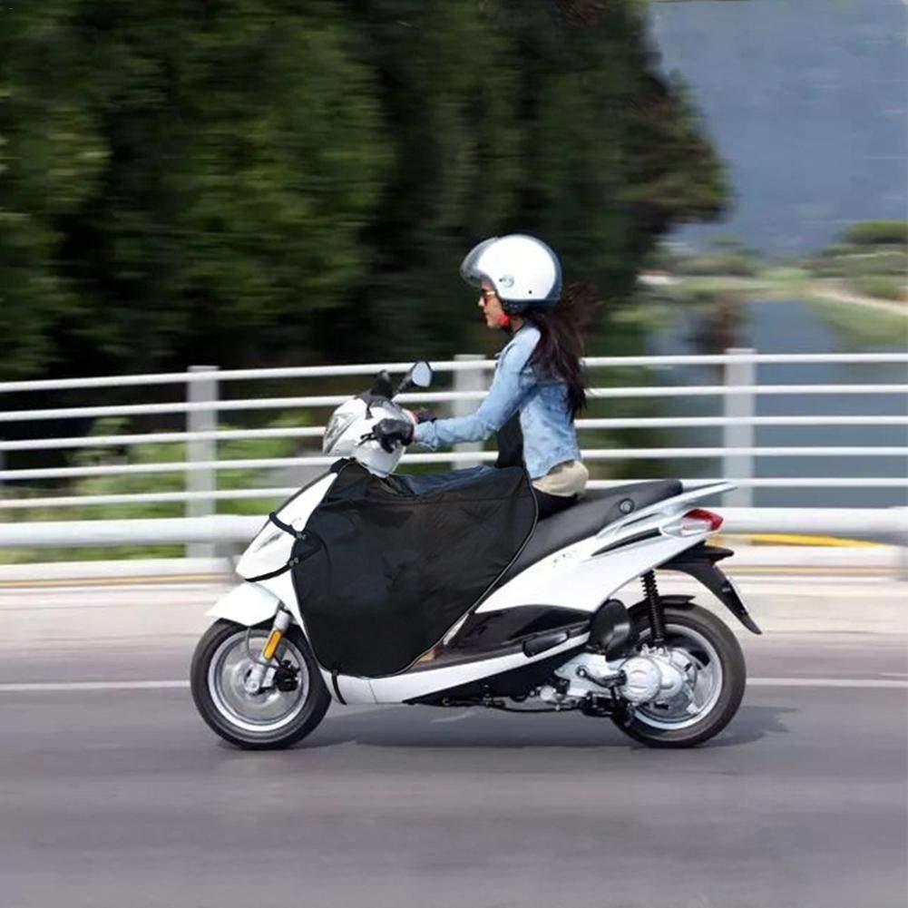 Scooter Tablier Couvre Jambe Housses Coupe-Vent Scooter Imperm/éables dhiver Thermique R/échauffant La Couette Chaude Genou Protecteur avec des Gants pour Voitures /Électriques