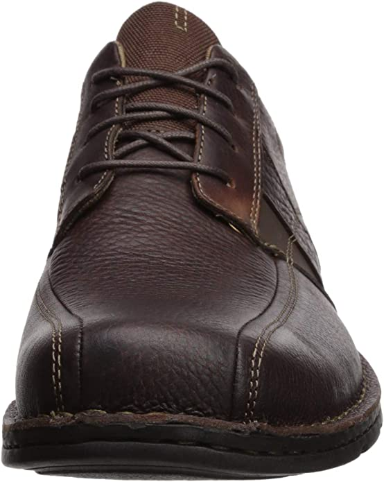 Extralight Oxfords Men/'s Clarks FRELAN LACE Black Leather Lace-Up Casual Shoes