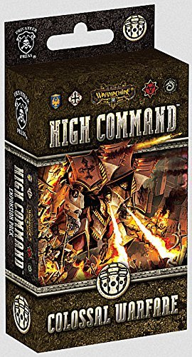 Warmachine - High Command - Colossal Warfare Expansion