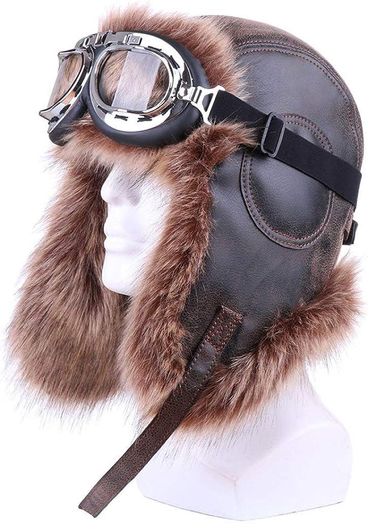 Bomber Hats Plush Earflap...