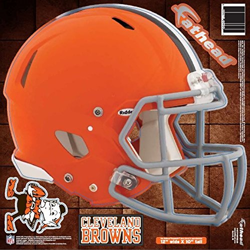 NFL Cleveland Browns Fathead Helmet Decal (Browns Family Decal compare prices)