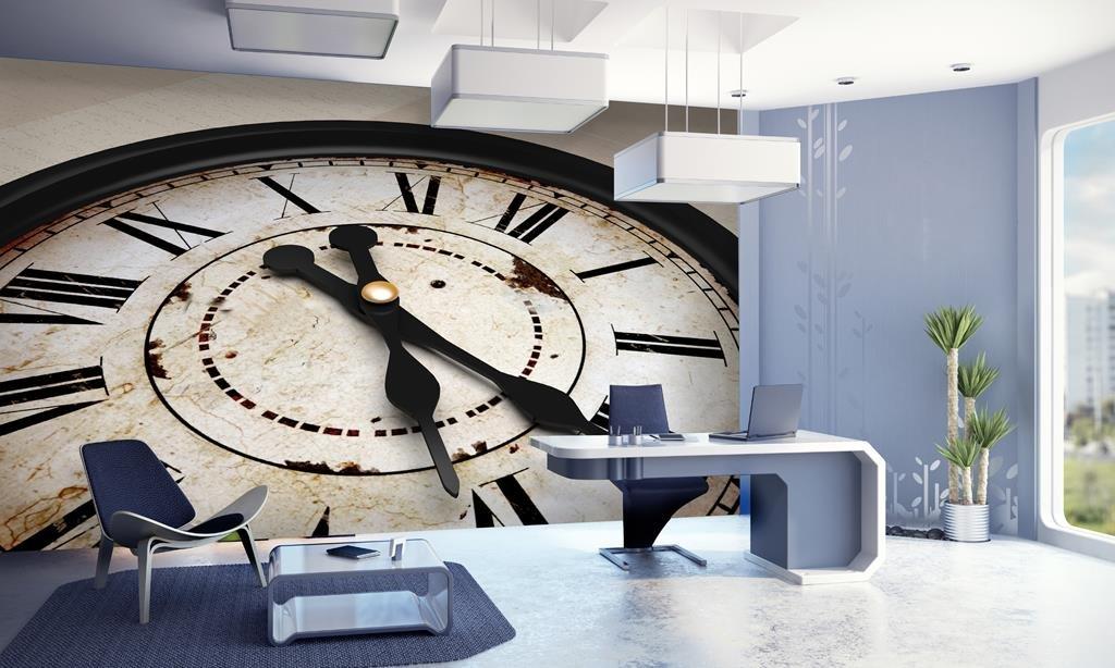999store Indian Wallpaper Wall Clock Textured Wallpaper Wall Murals