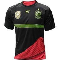 Selección española de fútbol. Camiseta oficial reversible. 2