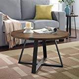 WE Furniture AZF30MWCTDW Coffee Table, Dark Walnut