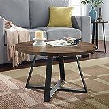 WE Furniture AZF30MWCTDW Coffee Table, Dark Walnut