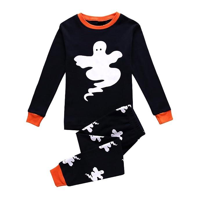 Qzrnly Niño Pijamas Dos Piezas PJs Manga Larga Pijama, 1-8 Años: Amazon.es: Ropa y accesorios