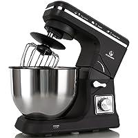 MURENKING Stand Mixer 500W 5-Qt 6-Speed Tilt-Head Kitchen Food Mixer with Accessories