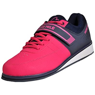 More Mile Lift 4 - Zapatillas de Levantamiento de Peso, Color Rosa: Amazon.es: Deportes y aire libre
