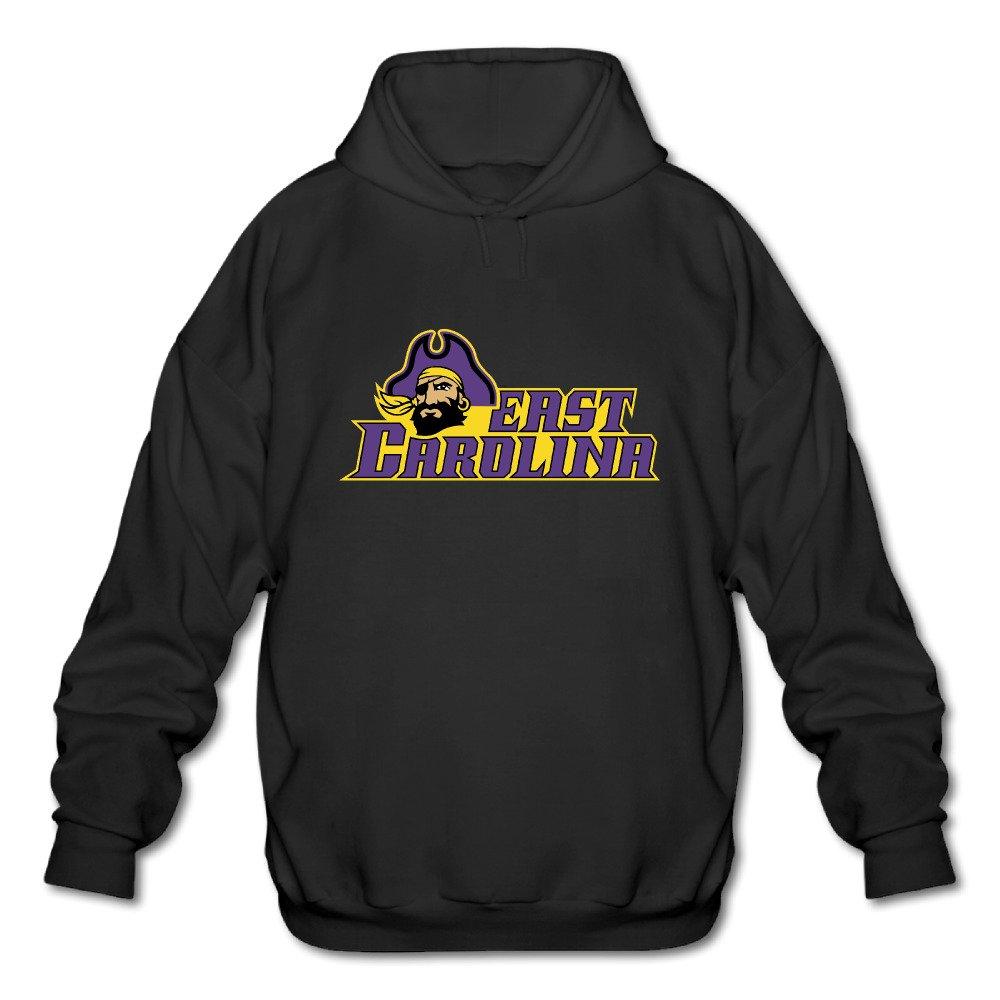 Mans Popular Fashion Hoodies Sweatshirts 2016 ECU Logo