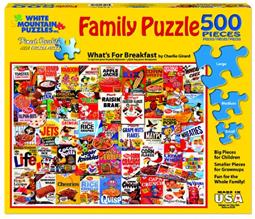 Review White Mountain Puzzles What's
