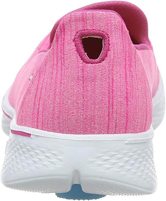 Skechers Go Walk 4-Satisfy, Zapatillas de Entrenamiento para Mujer: Amazon.es: Zapatos y complementos