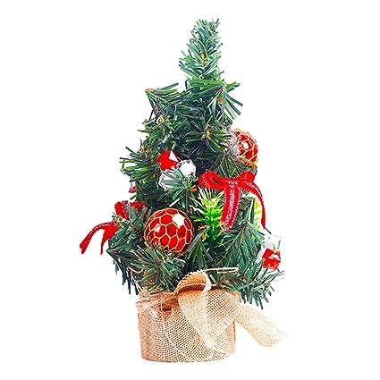 Centrotavola Natalizi Amazon.Collectsound Mini Decorazioni Per Albero Di Natale Da Tavola