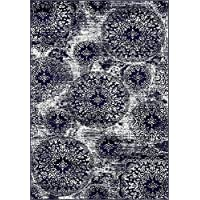 Unique Loom 3141505 Area Rug, 6 x 9, Blue
