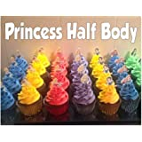 Edible Cupcake Icing Toppers Belle Beauty And The Beast