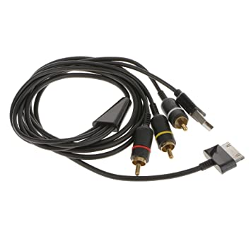 Cable Usb Tv / AV Compuesto Para Samsung P1000 Ficha Galaxia