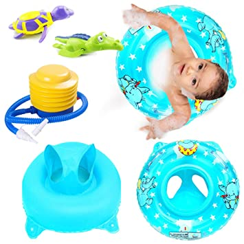 Newborn Baby Infant Inflatable Swimming Float Ring Baby Safety Aid Toy Item