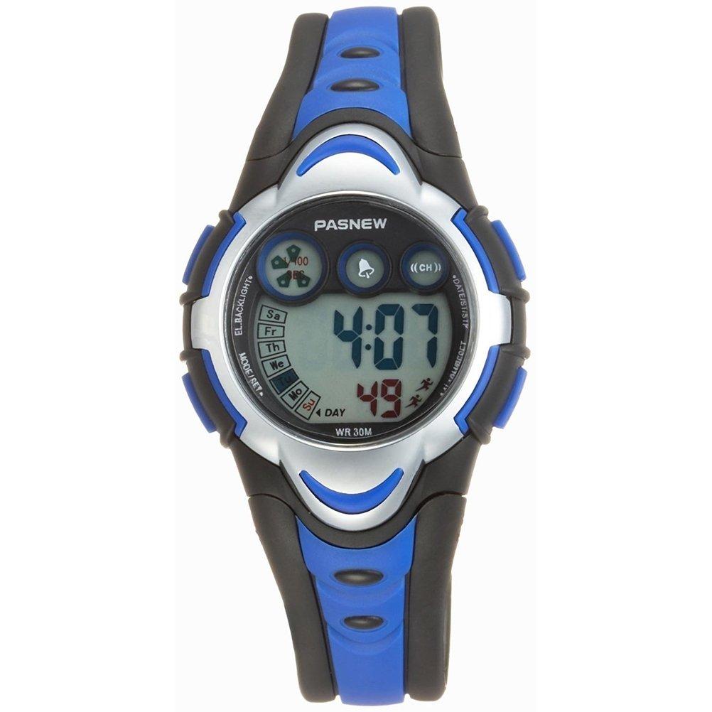 Leorx pasnew pse 276 bambini impermeabili orologio studenti ragazzi ragazze led digitale sport watch