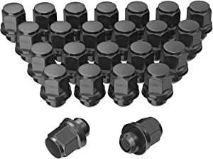"LEDKINGDOMUS Lug Nuts 12x1.5 Mag Seat Chrome, M12x1.5 Wheel Lug Nuts 1.46"" Tall 0.83"" Hex with Washer Compatible for Toyota Lexus Scion Isuzu"