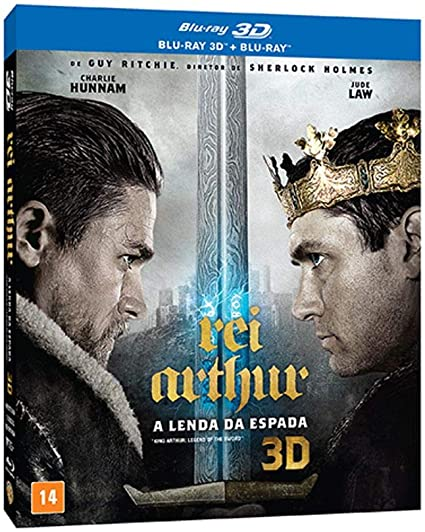 Amazon Com Rei Arthur A Lenda Da Espada Blu Ray 3d Blu Ray