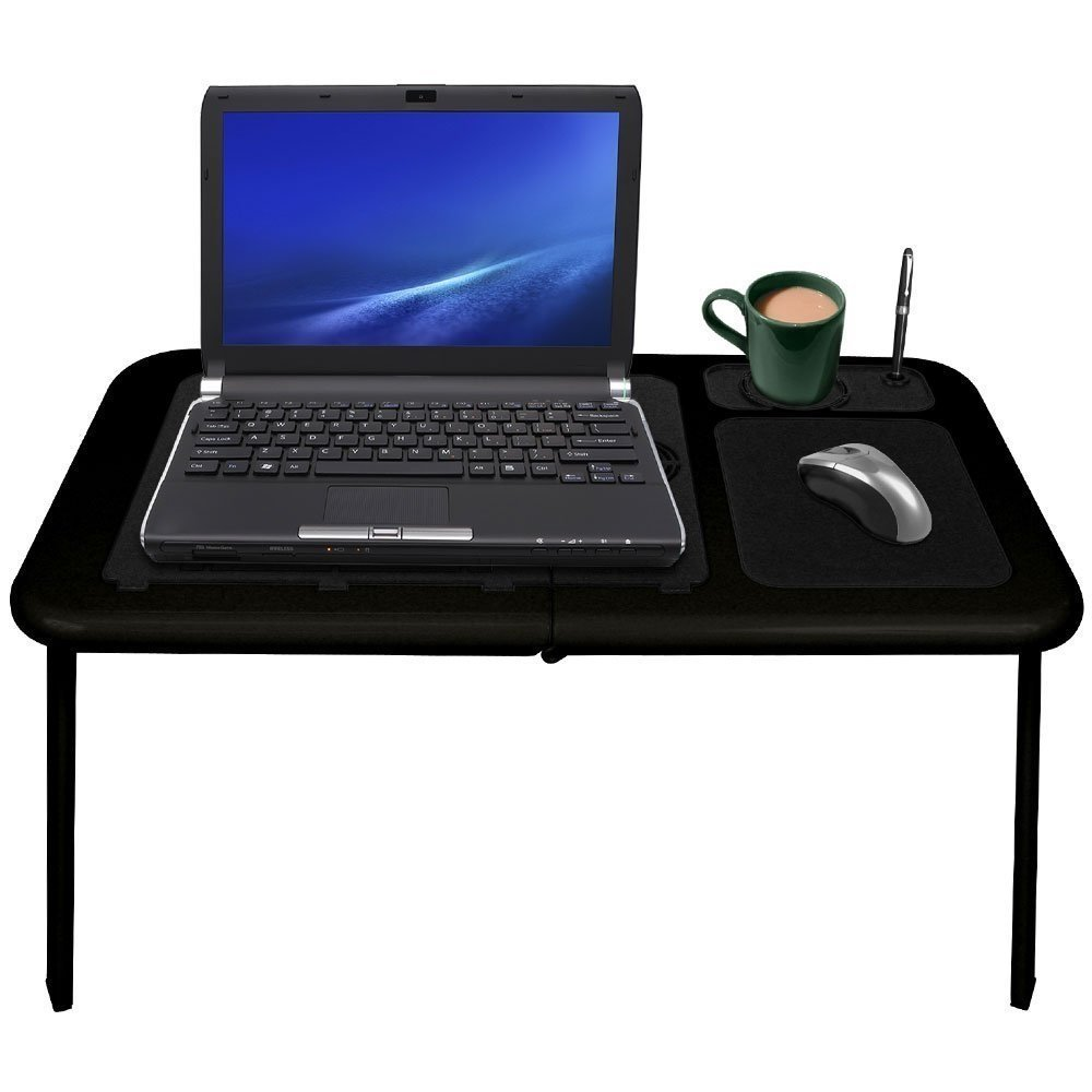 Laptop Chair Desk Amazoncom Flystone Portable Notebook Table Folding Laptop Buddy