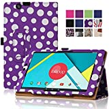 Nextbook Ares 8 Case, Famavala PU Leather Case Cover For 8