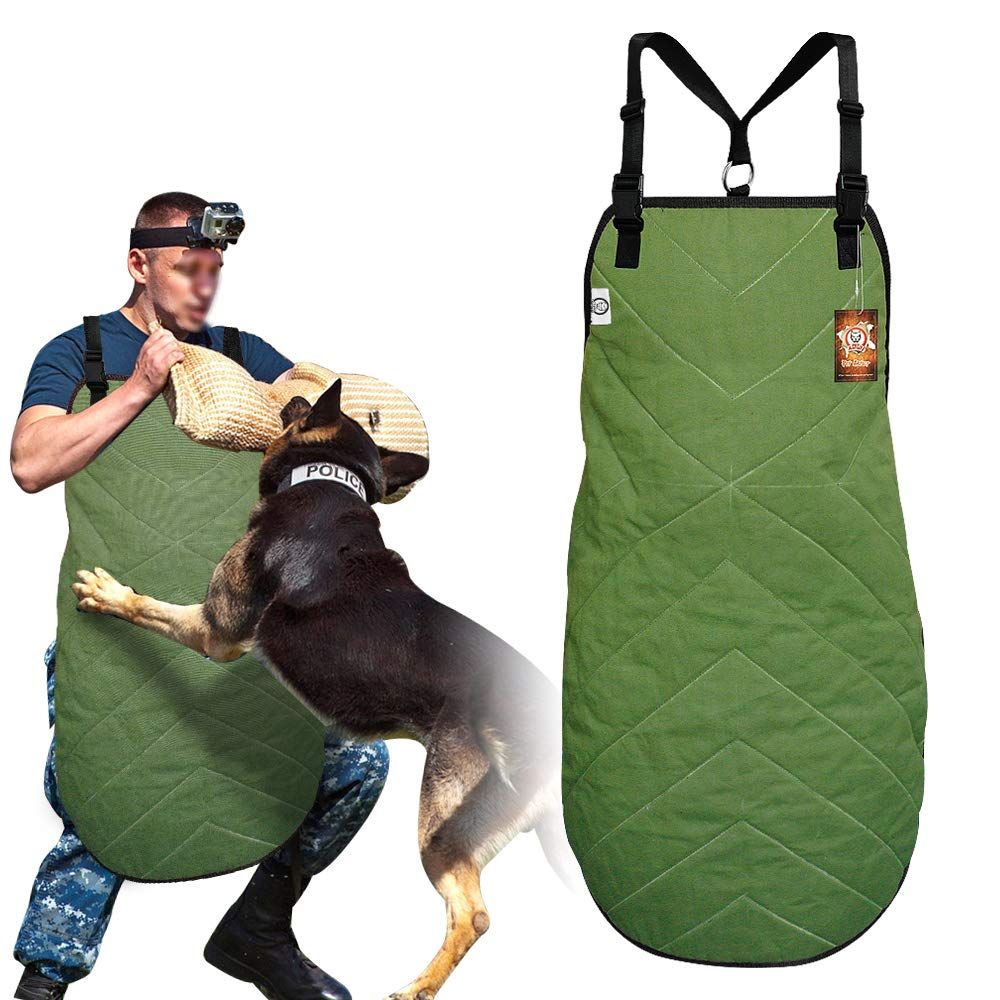 PET ARTIST Dog Anti-Grab Scratch Training Apron for Work Dogs Training,Large Dog Anti-Bite Apron Pinafore Fit Schutzhund Police K9 Malinois