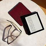 Kindle Oasis Wi-Fi バッテリー内蔵レザーカバー付属 メルロー キャンペーン情報つきモデル