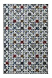 Mohawk Home Strata Desdemona Pewter Medallions Printed Area Rug, 7'6 x 10′, Gray For Sale