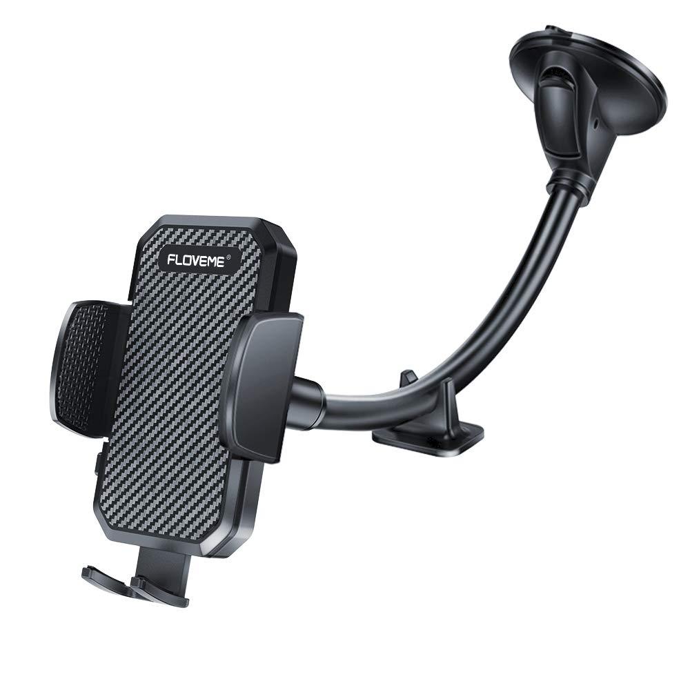 Windshield Phone Holder for Car – FLOVEME Gooseneck Long Arm Car Phone