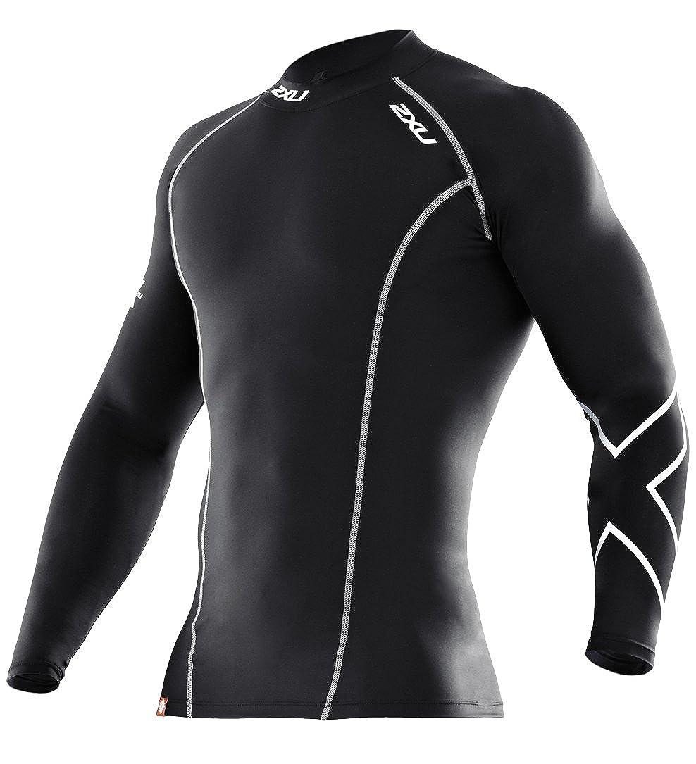 2XU Herren Shirt Long Sleeve Compression Top