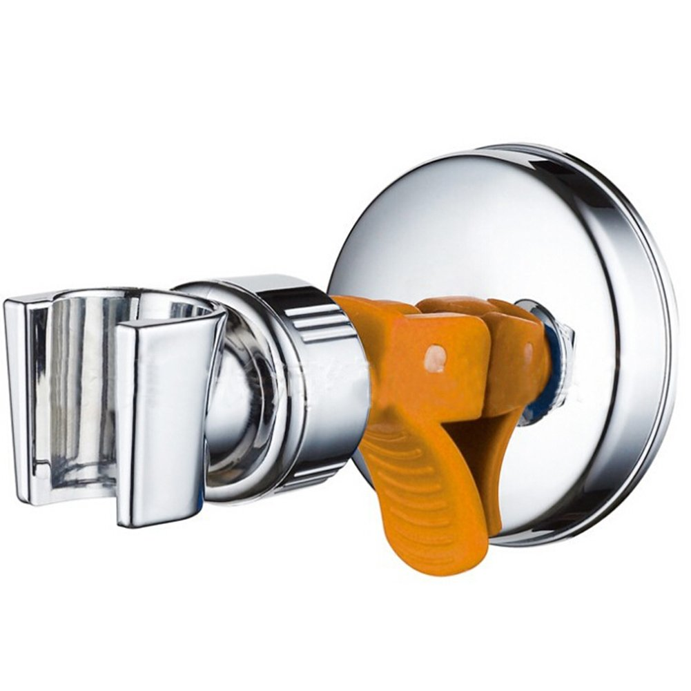 Adjustable Shower Holder Suction Cup with Strong Suction for Universal Shower Head, Chrome Qilerongrong