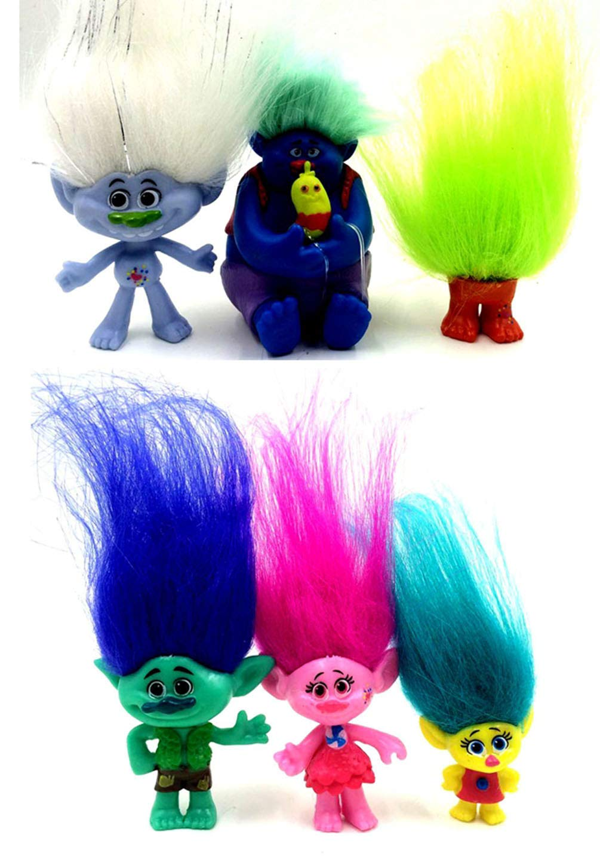 POPPY Trolls personaggi del film giocattoli zwb-116