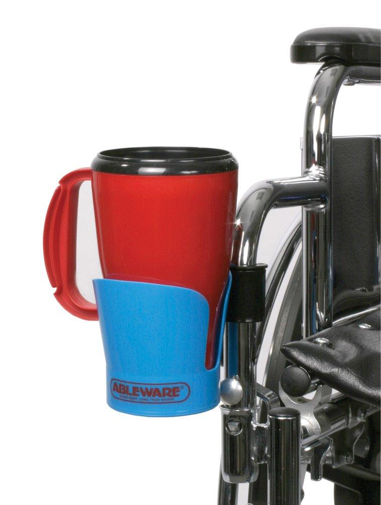 Wheelchair Cup Holder, Blue