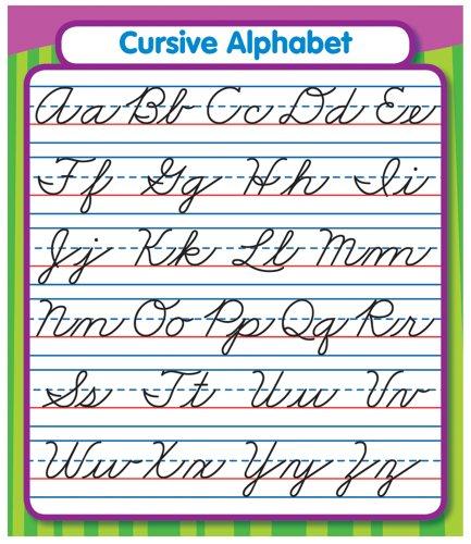 Carson Dellosa Cursive Alphabet Stickers 168072