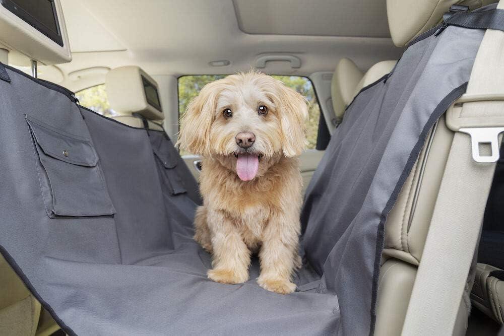 Standard Solvit Dog /& Cat Back Seat Cover Gray