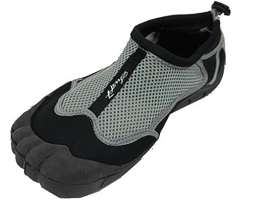 Men's Mesh Rubber Grip Aqua Socks Water Shoe
