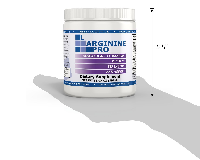 L-arginine Pro, 1 NOW L-arginine Supplement - 5,500mg of L-arginine PLUS 1,100mg L-Citrulline + Vitamins & Minerals for Cardio Health, Blood Pressure, Cholesterol, Energy (Berry, 3 Jars) by L-arginine Pro (Image #7)