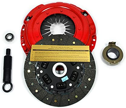 EFT STAGE 1 CLUTCH KIT WORKS WITH WORKS WITH 86-01 FORD MUSTANG LX GT 93-98 COBRA SVT 4.6L 5.0L