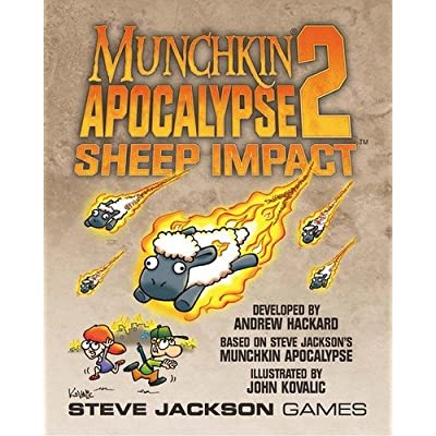 Munchkin Apocalypse 2 Sheep Impact Game: Toys & Games