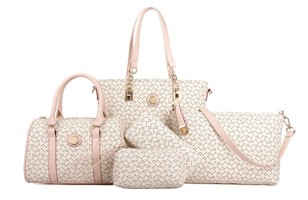 4e9f14d6a6 Amazon.com  King Ma Women s Business Handbag Cross-Body Pouch Wallets Totes  6 Pieces Set  Shoes