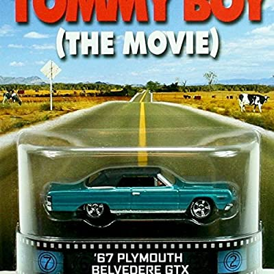 67 Plymouth Belvedere GTX Tommy Boy The Movie Hot Wheels 2014 Retro Series Die Cast Vehicle