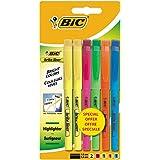 Bic Brite Liner - Lote de 6 subrayadores, varios colores