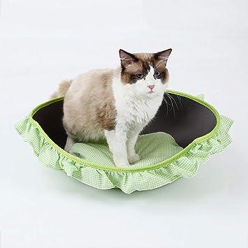 Amazon.com: JKFZD Cama para mascotas, cama para gato, casa ...