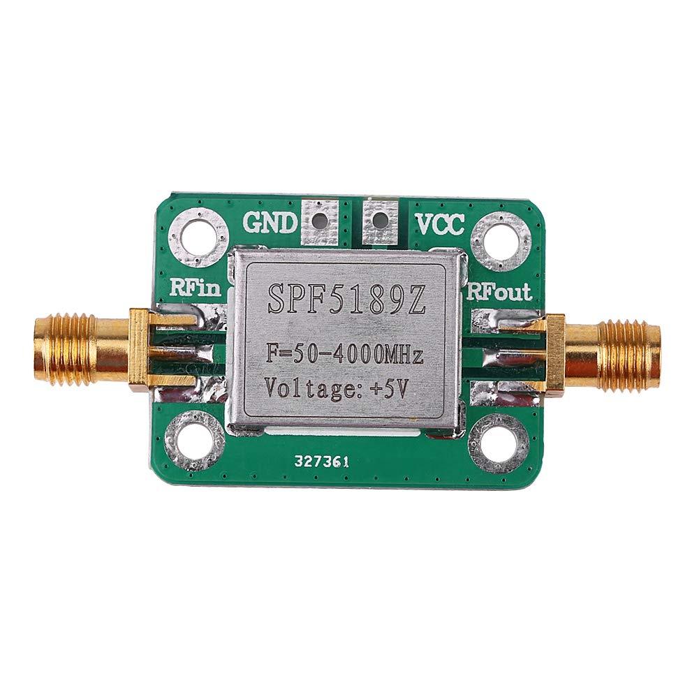 50-4000MHz RF amplificador de bajo ruido SPF5189 0.6dB receptor de señal de amplificador de banda ancha para FM HF VHF / UHF Ham Radio