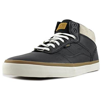 Vans Bedford Crackle Black/Marshmallow Mens Mid Top Sneakers (8 Mens)