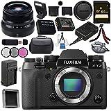 Fujifilm X-T2 Mirrorless Digital Camera (Body Only) 16519247 + Fujifilm XF 35mm f/2 R WR Lens 16481878 Bundle