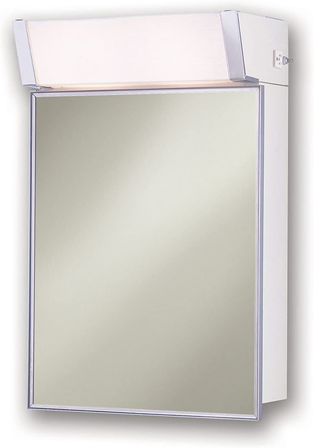 Jensen 555ILX Lighted Medicine Cabinet, 16 x 24